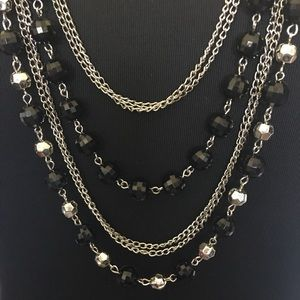 Torrid Layered Disco Ball Necklace